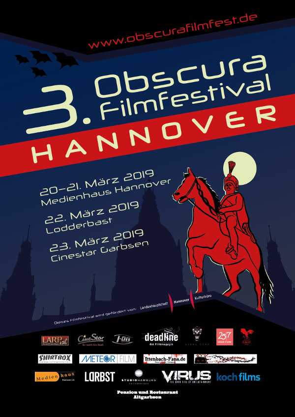 [Festival] Obscura Hannover #3 // 20. – 23.03.2019