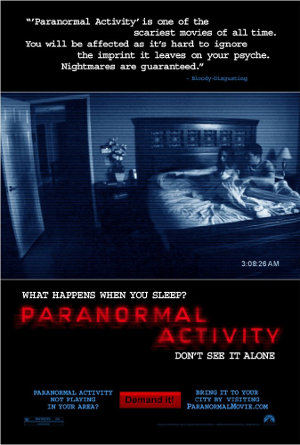 [Review] Paranormal Activity