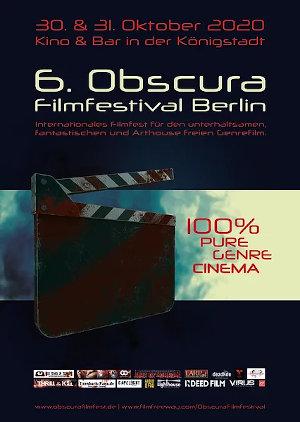 Obscura Filmfestival Berlin #6 // 30. + 31.10.2020